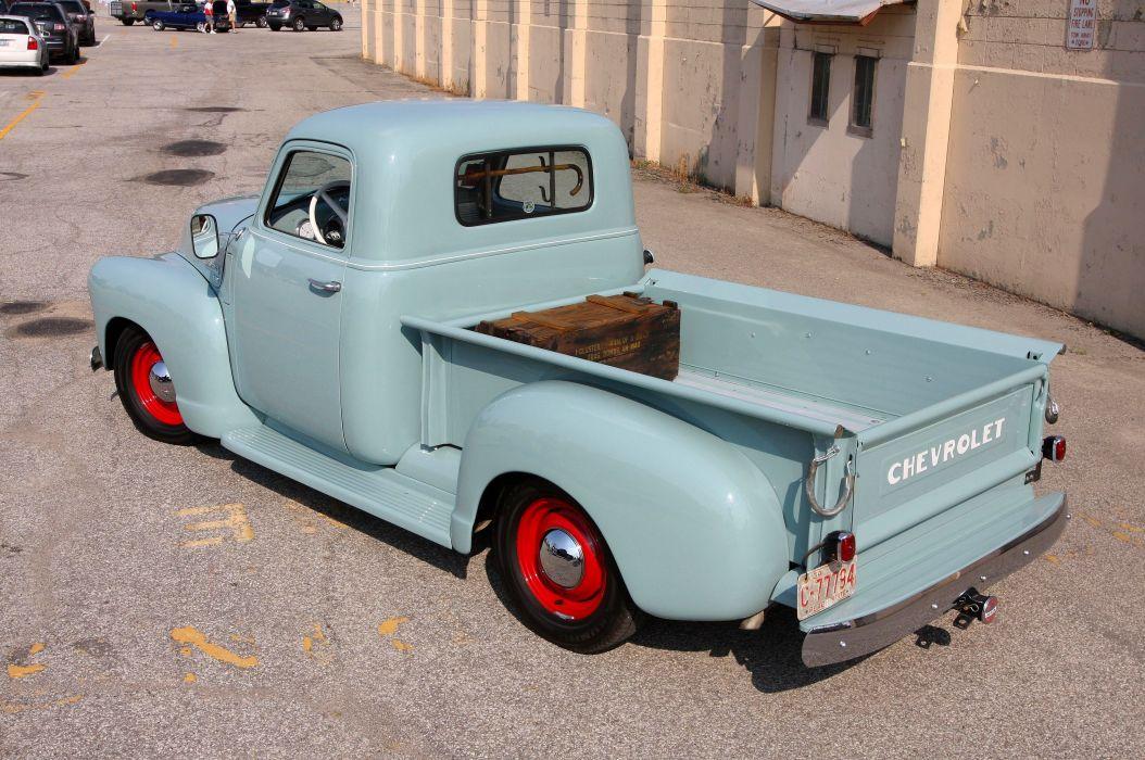 1949 Chevrolet 3100 Pickup Classic Old Retro Vintage Original USA -02 wallpaper