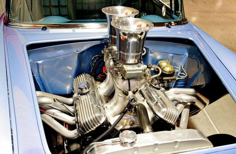 1955 Chevrolet Chevy 210 Belair Bel Air Drag Gasser Race USA -03 wallpaper
