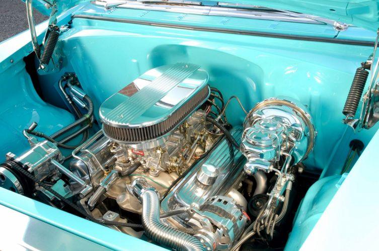 1955 Chevrolet Chevy Belair Bel Air Streetrod Cruiser Street Rod Hot USA -06 wallpaper
