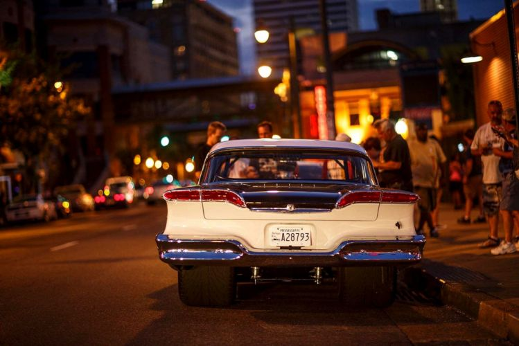 1958 Edsel Coupe Pro Street Drag USA -02 wallpaper