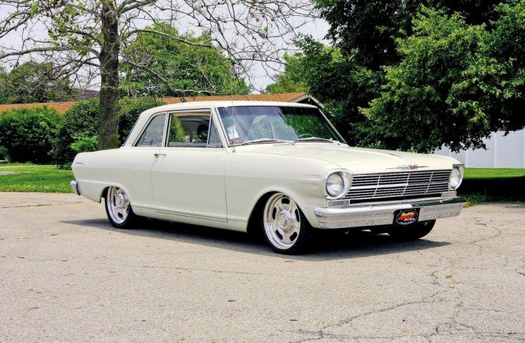 1963 Chevrolet Chevy Nova Street Cruiser Rod Streetrod USA -01 wallpaper