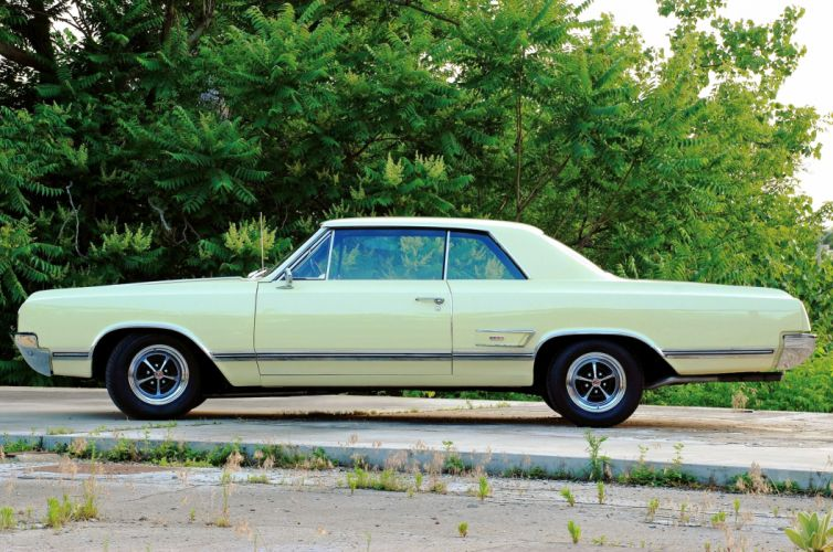 1965-Oldsmobile Coupe Hardtop 442 Muscle Classic Old Original USA -02 wallpaper