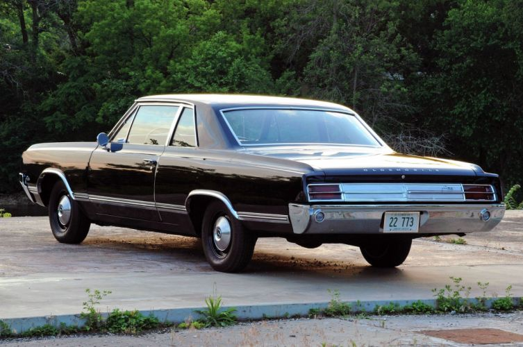 1965-Oldsmobile Coupe Hardtop F85 Muscle Classic Old Original USA -03 wallpaper
