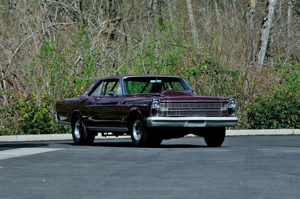 1966 Ford Galaxie LTD Coupe Hardtop Drag Pro Street Super USA -09 wallpaper