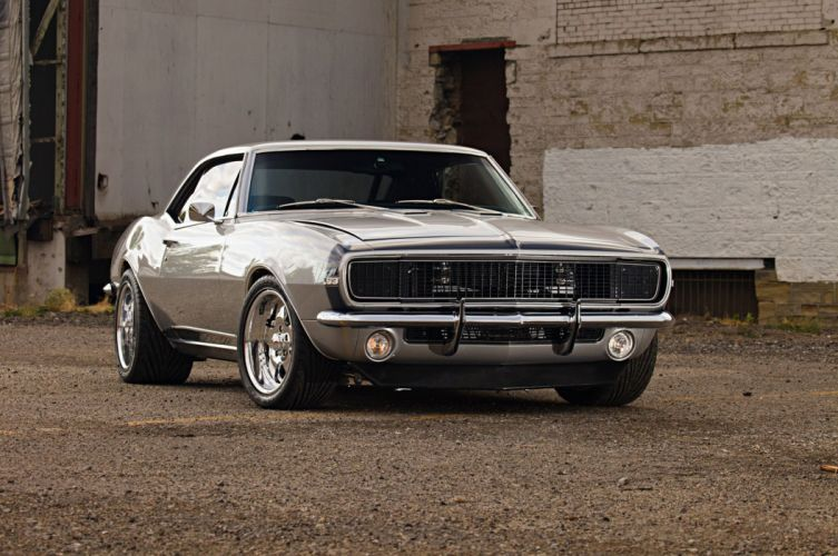 1967 Chevrolet Chevy Camaro SS LS Pro Touring Supercharged Super Street USA -01 wallpaper