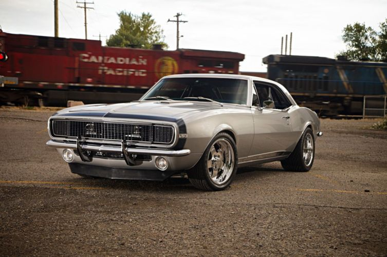 1967 Chevrolet Chevy Camaro SS LS Pro Touring Supercharged Super Street USA -03 wallpaper