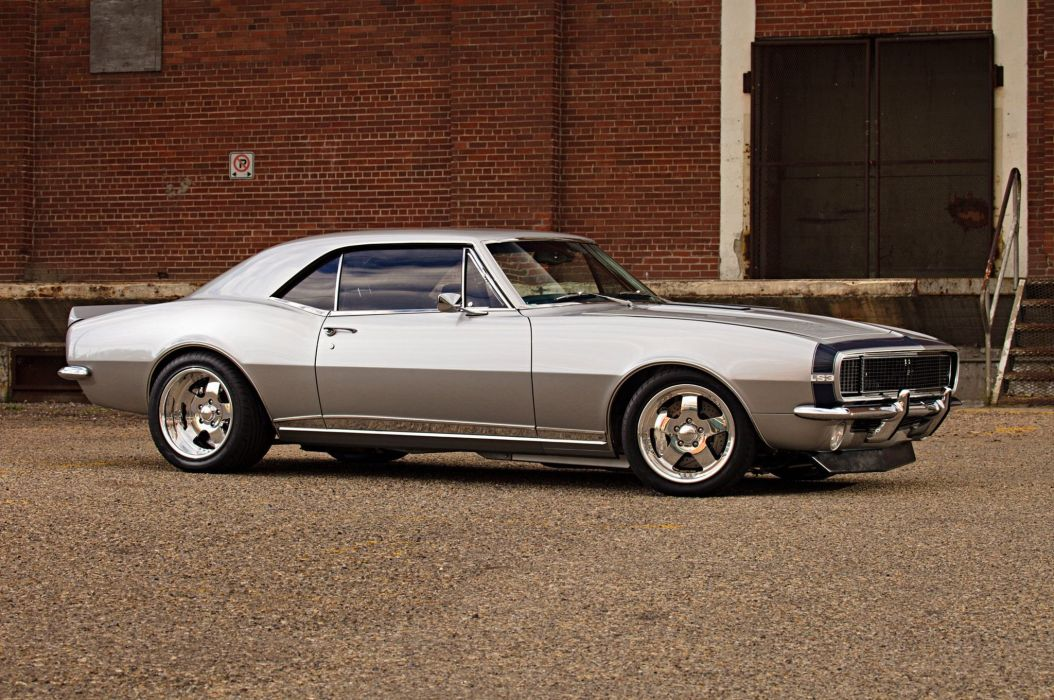 1967 Chevrolet Chevy Camaro SS LS Pro Touring Supercharged Super Street USA -07 wallpaper