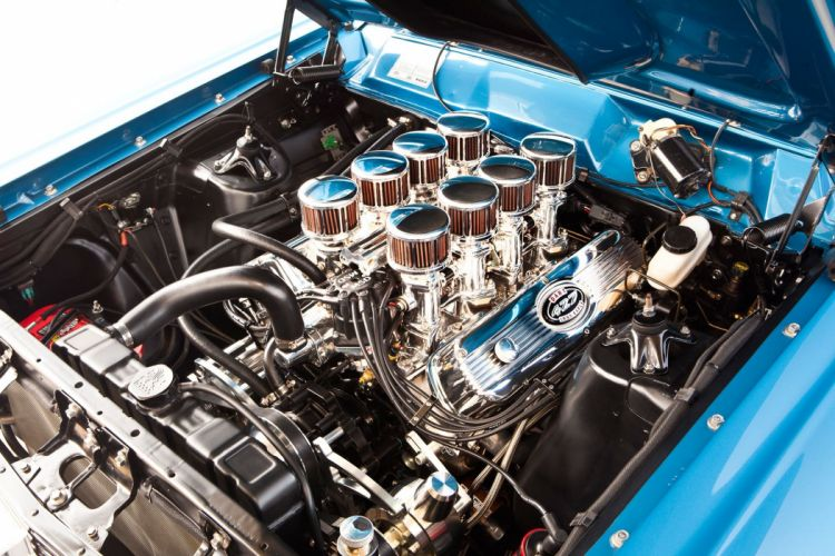 1967 Ford Fairlane 500 Coupe Hardtop Streetrod Street Rod Hot Cruiser USA -03 wallpaper