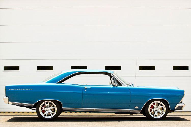 1967 Ford Fairlane 500 Coupe Hardtop Streetrod Street Rod Hot Cruiser USA -08 wallpaper