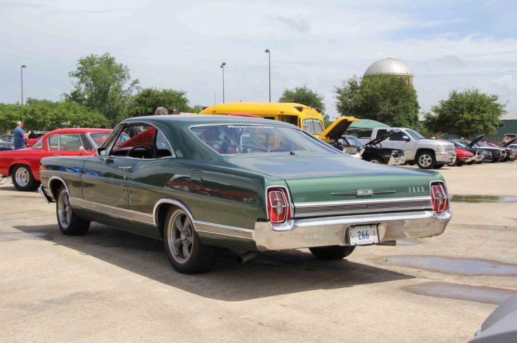 1967 Ford Galaxie LTD XL Coupe Muscle Streetrod Street Rod Cruiser USA -03 wallpaper