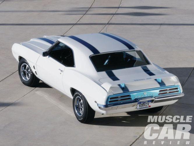 1969 Pontiac Trans-Am Muscle Classic Old Original USA -02 wallpaper
