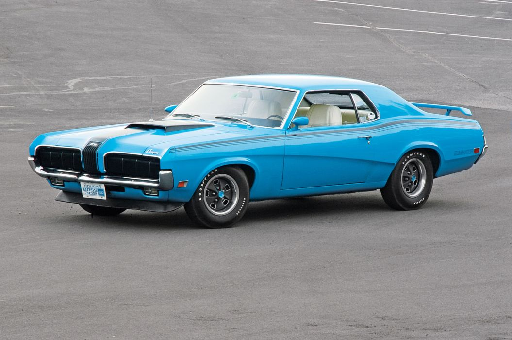 1970 Mercury Cougar Eliminator Muscle Classic Old Original USA -01 wallpaper
