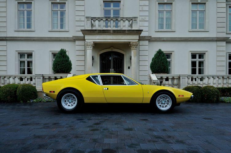 1972 De Tomaso Pantera Supercar Exotic Classic Old Italy -03 wallpaper