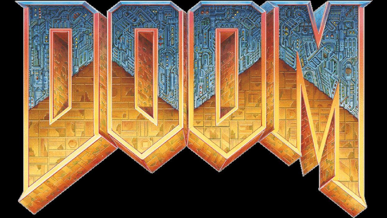 DOOM sci-fi fps shooter action fighting warrior series survival horror dark 1doom futuristic artwork evil wallpaper