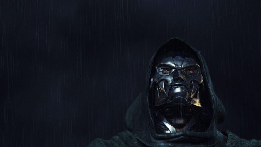 DOOM sci-fi fps shooter action fighting warrior series survival horror dark 1doom futuristic artwork evil monster creature demon skull mask wallpaper