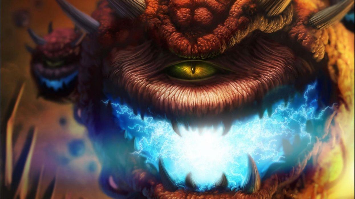 DOOM sci-fi fps shooter action fighting warrior series survival horror dark 1doom futuristic artwork evil monster creature magic wallpaper