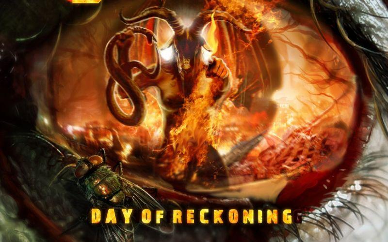 DOOM sci-fi fps shooter action fighting warrior series survival horror dark 1doom futuristic artwork evil monster creature demon poster wallpaper
