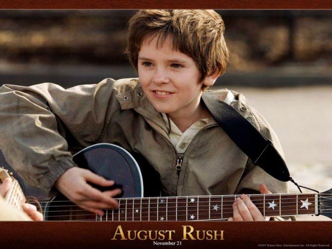 August rush Freddie highmore Evan taylor movie wallpaper