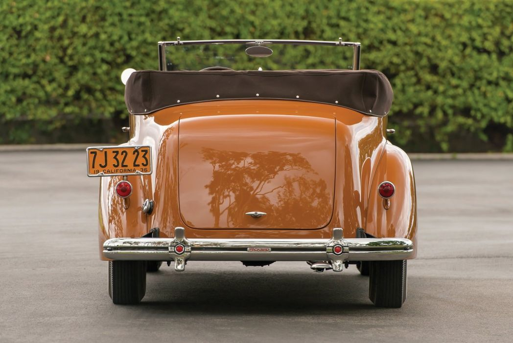 1936 Packard 120 Convertible Victoria LeBaron classic cars wallpaper