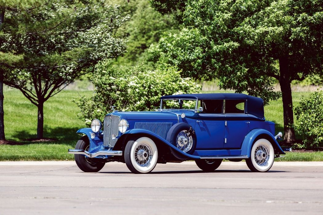 1932 Auburn V12 160A Custom Dual Ratio Phaeton Sedan classic cars wallpaper