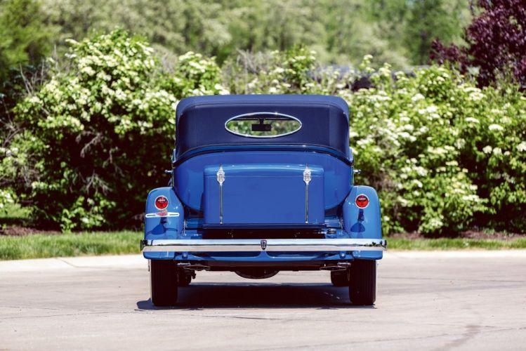 1932 Auburn V12 160A Custom Dual Ratio Phaeton Sedan classic cars wallpaper