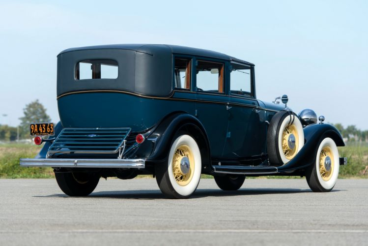 1933 Lincoln Model-KB Town Car Brunn classic cars wallpaper