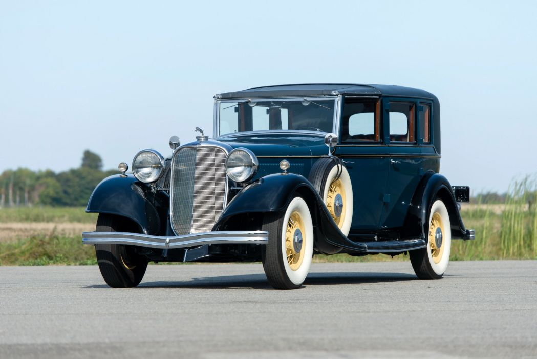 1933 Lincoln Model-KB Town Car Brunn classic cars wallpaper