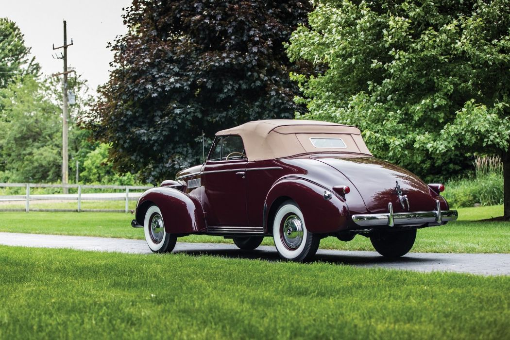 1939 LaSalle Convertible Coupe classic cars wallpaper