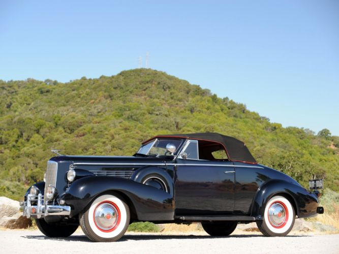 1937 LaSalle Convertible Coupe classic cars wallpaper