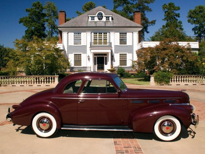 1940 LaSalle coupe classic cars wallpaper