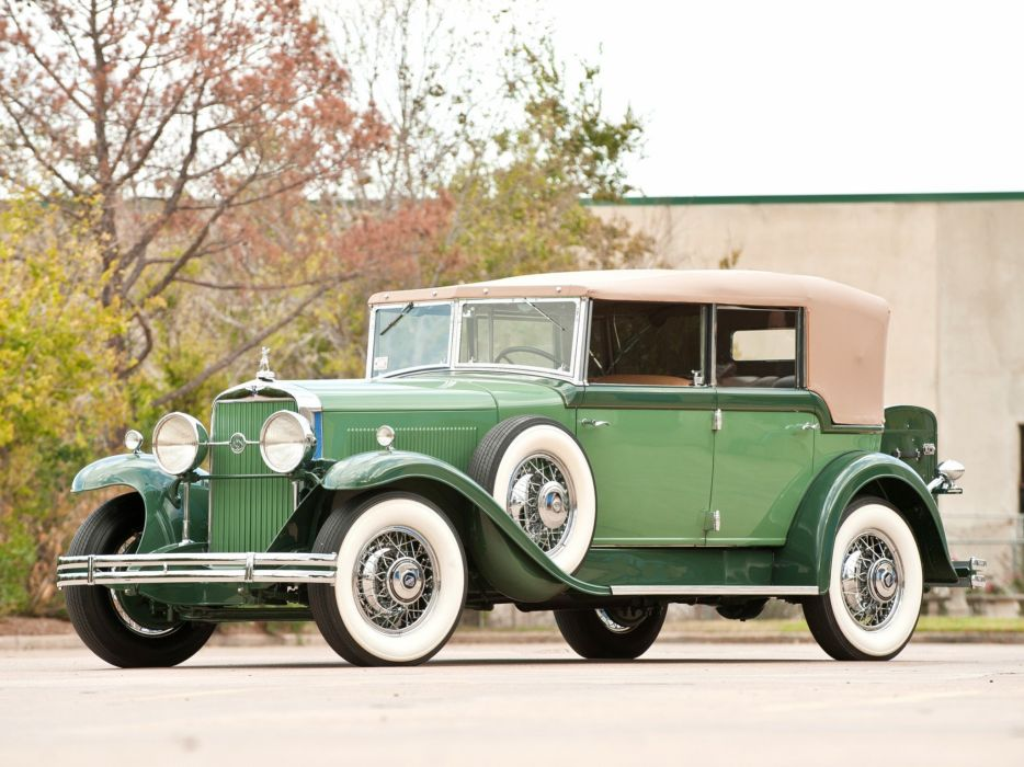 1930 LaSalle All-Weather Phaeton classic cars wallpaper