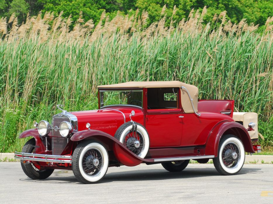 1929 LaSalle Convertible Coupe classic cars wallpaper