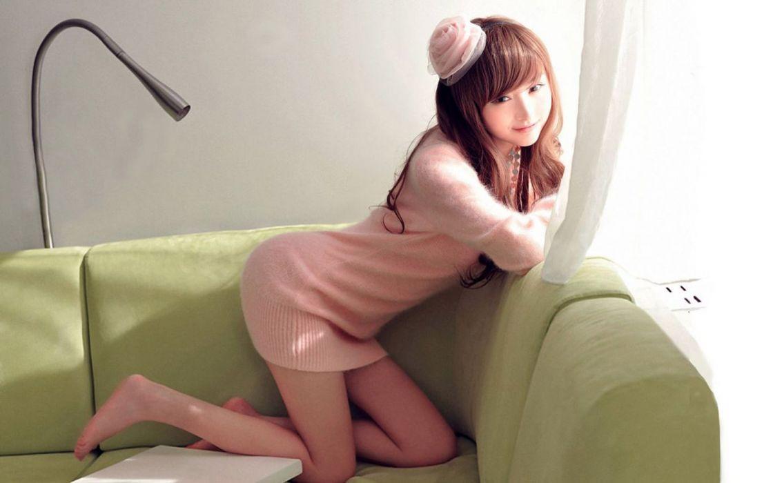 asians - brunettes - Lin - model - oriantal - women - Ketong wallpaper