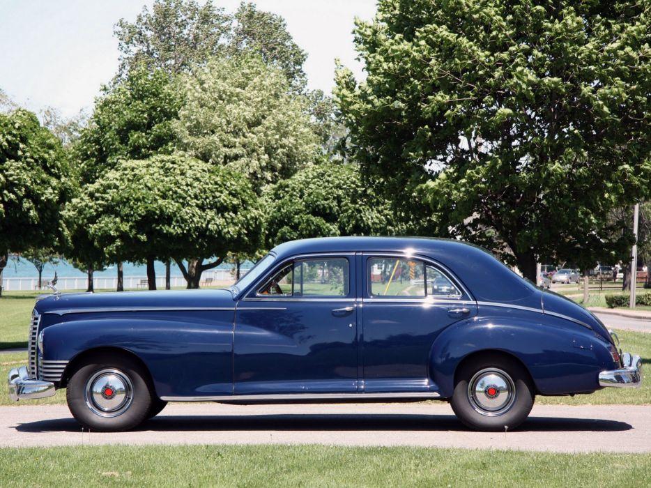 11947 Packard Super Clipper Eight 4-door Sedan classic cars wallpaper