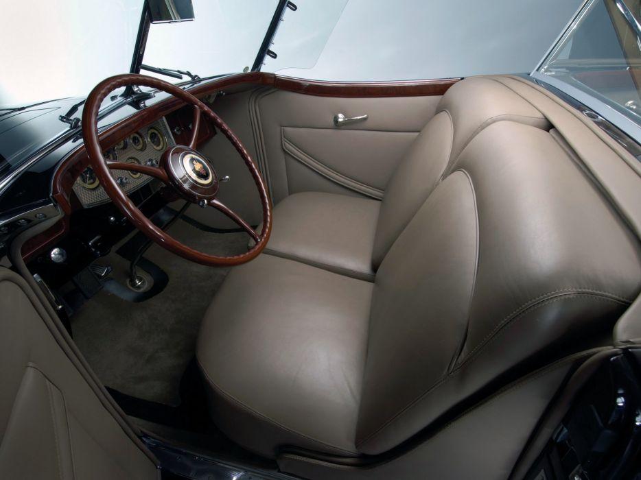 1932 Packard Individual Custom Twelve Sport Phaeton Dietricht classic cars wallpaper