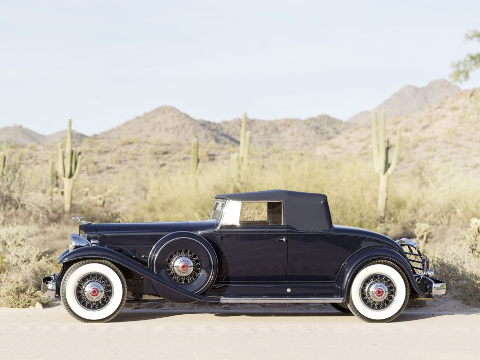 1932 Packard Twelve Coupe Roadster classic cars wallpaper