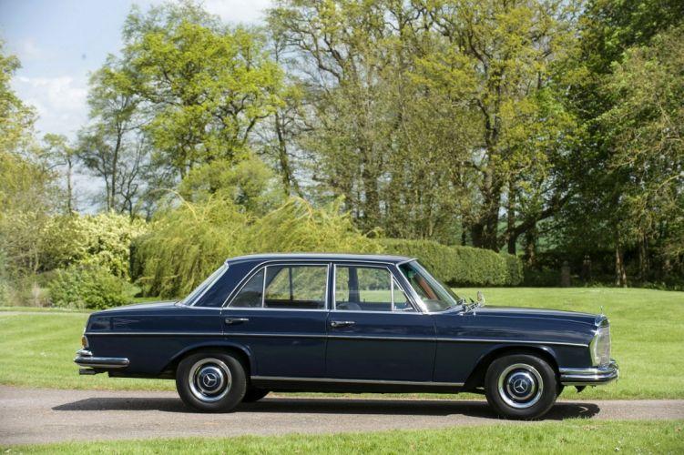 Mercedes-Benz 250-S UK-spec W108 cars sedan 1965 wallpaper