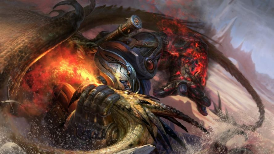 ELDER SCROLLS fantasy action rpg fighting mmo online skyrim f wallpaper