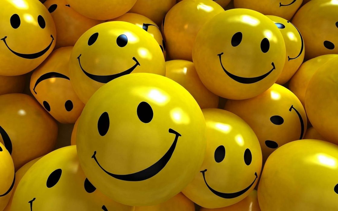 Smiles Smile Yellow wallpaper