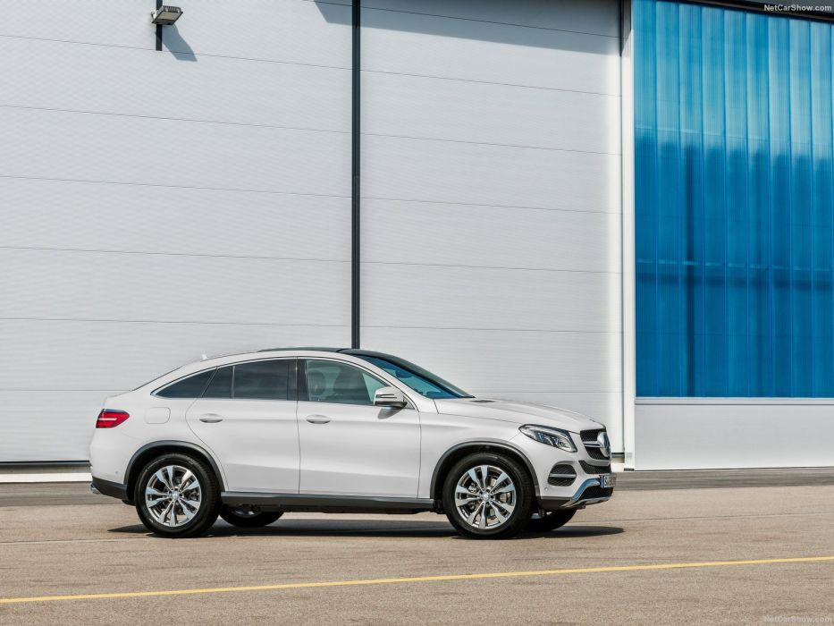 (C292) 2015 awd benz Coupe GLE Mercedes suv wallpaper