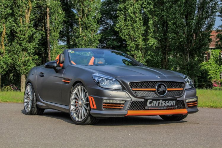 Carlsson CSK-55 mercedes convertible modified wallpaper