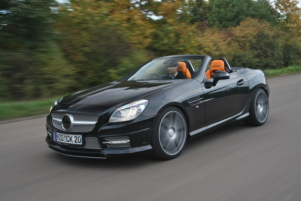 Carlsson CB-25-S UK-spec (R172) cars mercedes convertible 2012 wallpaper