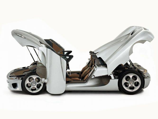Koenigsegg CC8S cars supercars 2002 wallpaper