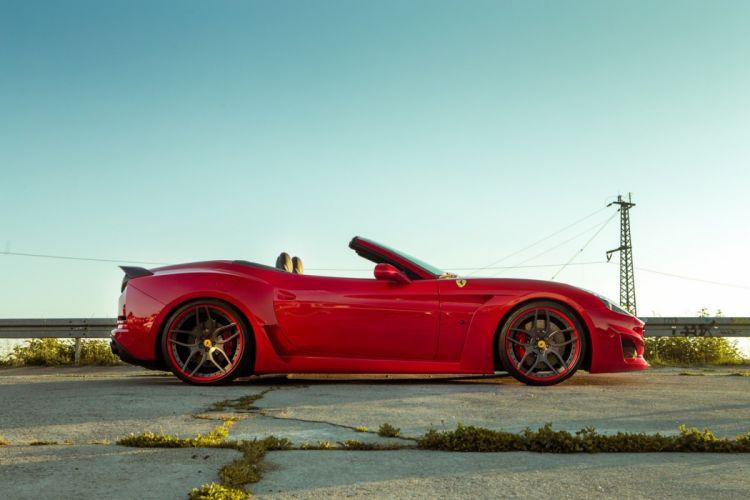 Novitec rosso Widebody Ferrari California-T N-Largo cars convertible modified 2015 wallpaper