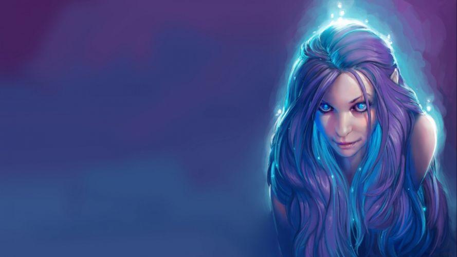 fantasy artwork art women girl girls elf elves f wallpaper