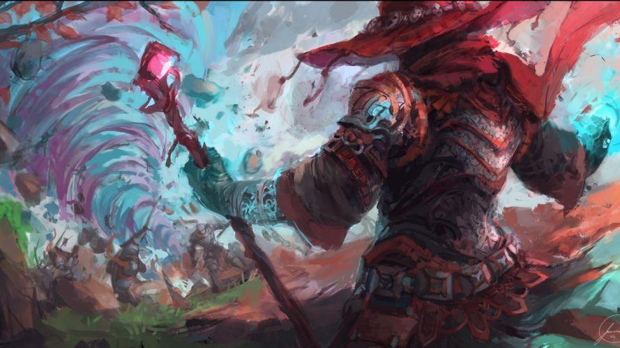 fantasy artwork art sorcerer magic wizard s wallpaper