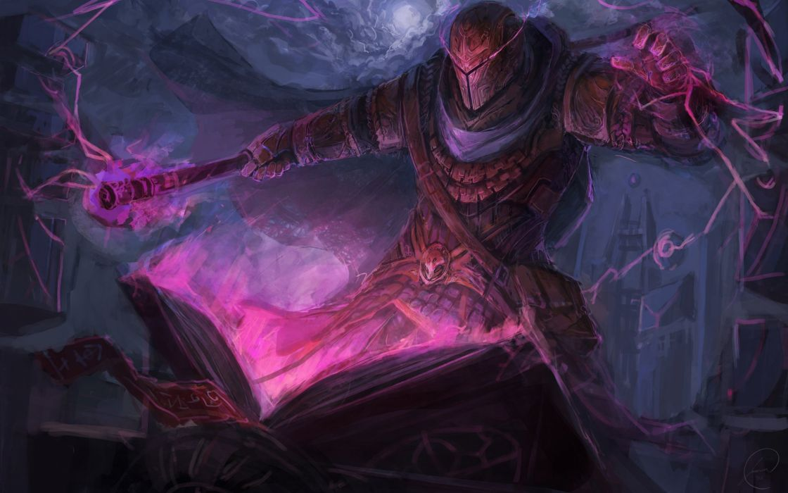 fantasy artwork art sorcerer magic wizard d wallpaper