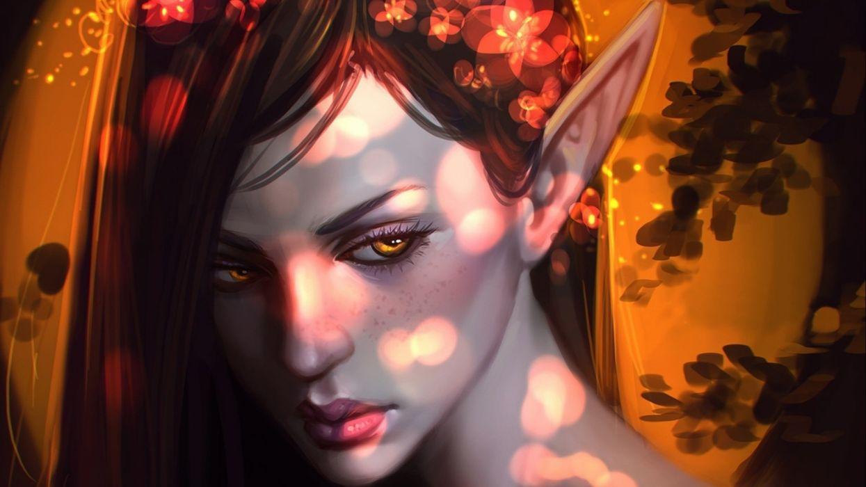 fantasy artwork art elf elves girl girls women f wallpaper