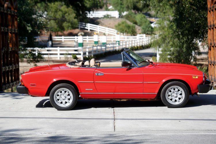 Pininfarina Spider Azzura (124 DS) 1982 cars convertible wallpaper
