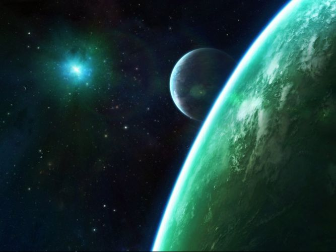 sci-fi artwork art planet space d wallpaper
